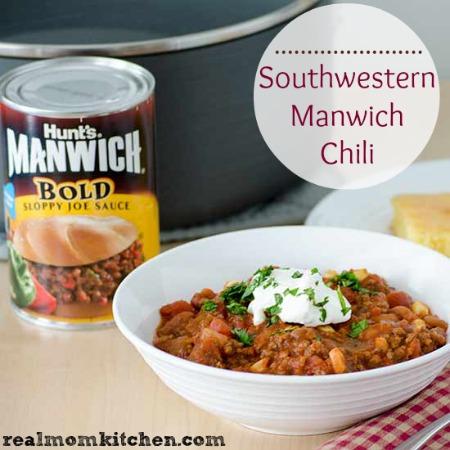 Southwestern Manwich Chili | realmomkitchen.com