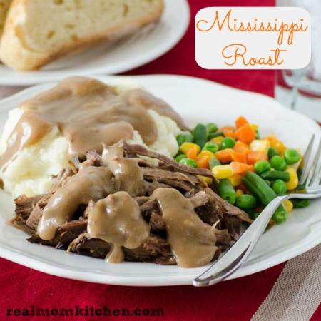 Mississippi Roast | realmomkitchen.com
