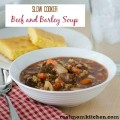 Slow Cooker Beef and Barley Soup | realmomkittchen.com