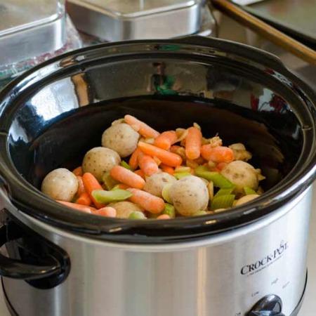 Crock Pot Cuisine - Beef Pre Cooking 450