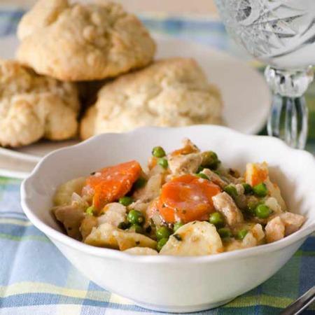 Crock Pot Cuisine Roasted Chicken and Dumplings 450