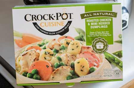 Crock Pot Cuisine Roasted Chicken and Dumplings Box
