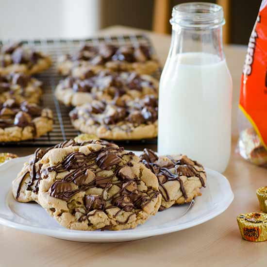 Reeses Slam Dunk Peanut Butter Cookies