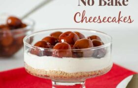 Rich No Bake Cheesecakes | realmomkitchen.com