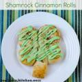 Shamrock Cinnamon Rolls | realmomkitchen.com