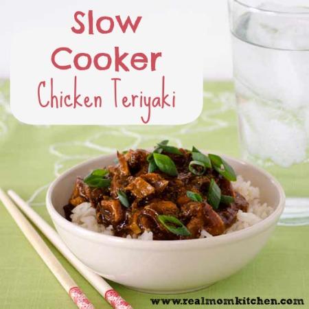 Slow Cooker Chicken Teriyaki | realmomkitchen.com