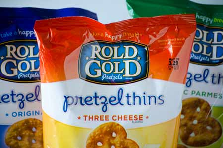 Rold Gold Pretzel Three Cheese