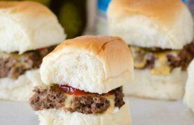 Hamburger Sliders | realmomkitchen.com