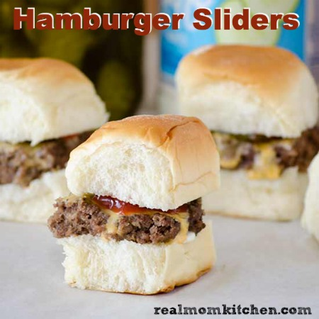 Hamburger Sliders | realmomkitchen.com