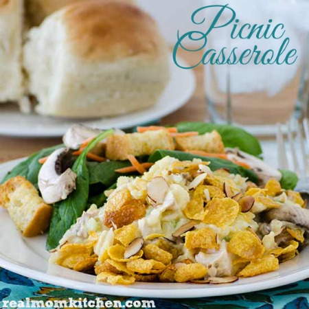 Picnic Casserole | realmomkitchen.com