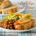 Pork Chops and Beans | realmomkitchen.com