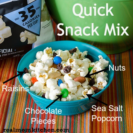 Quick Snack Mix - Gluten Free #SmartfoodDelight