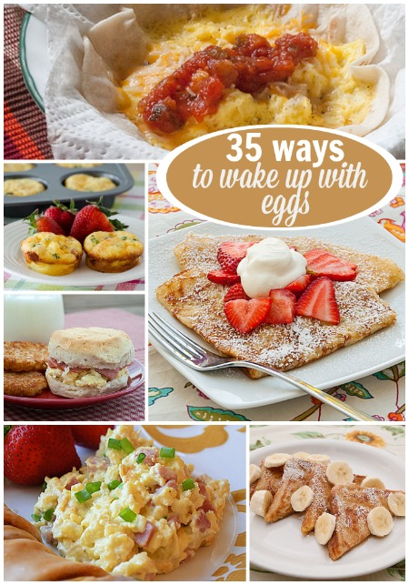 35 ways to wake up eggs