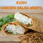 Asian Chicken Salad Wraps | realmomkitchen.com