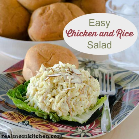 Easy Chicken and Rice Salad | realmomkitchen.com