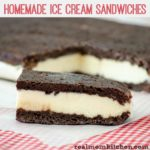 Homemade Ice Cream Sandwiches | realmomkitchen.com
