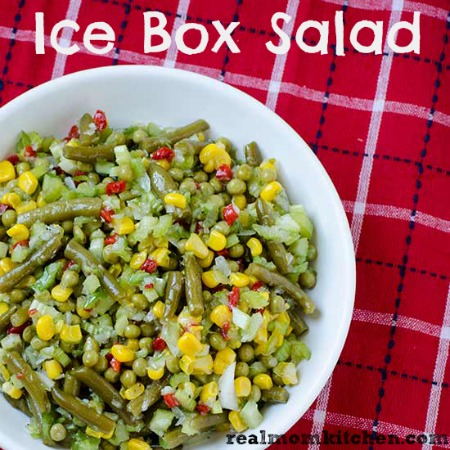 Ice Box Salad | realmomkitchen.com