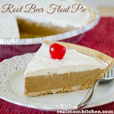 Root Beer Float Pie | realmomkitchen.com