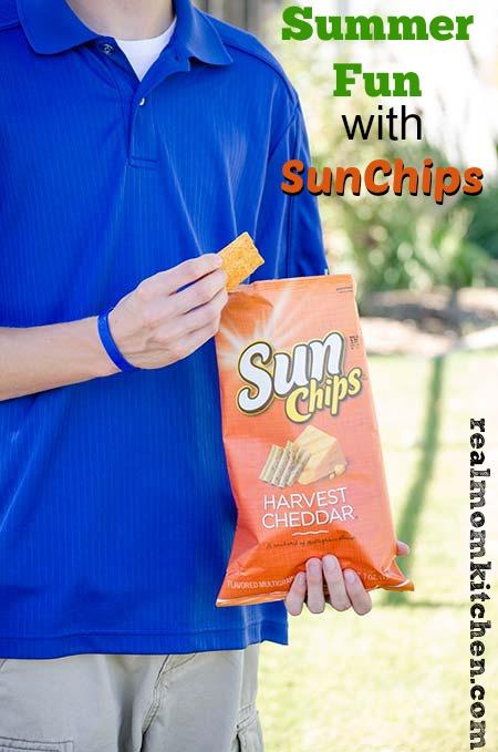 Summer Fun with SunChips #SunChipsBBQ