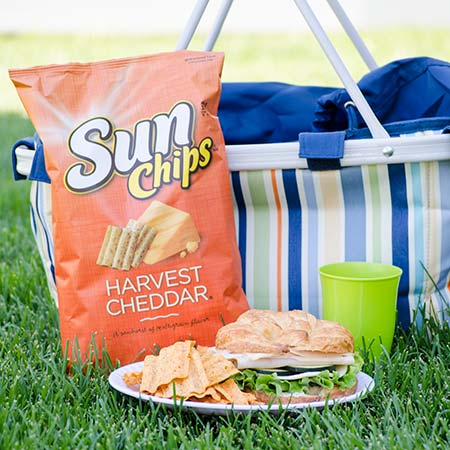 SunChips  and Sandwich #SunChipsBBQ