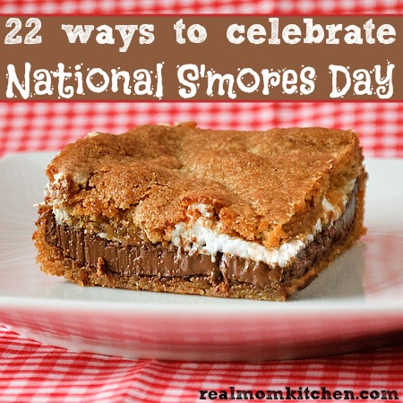 National S'mores Day | realmomkitchen.com
