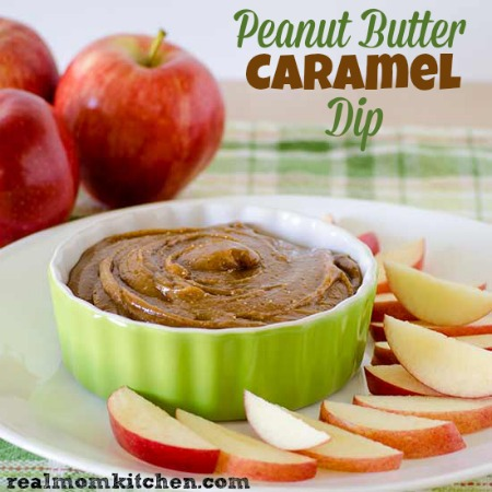 Peanut Butter Caramel Dip   realmomkitchen.com