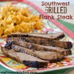 Southwest Grilled Flank Steak   realmomkitchen.com