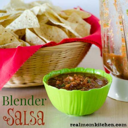Blender Salsa | realmomkitchen.com
