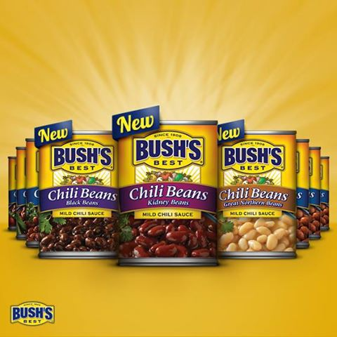 Bush's new chili beans
