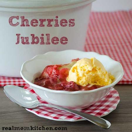Cherries Jubilee | realmomkitchen.com