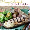 Honey Mustard Grilled Chicken | realmomkitchen.com