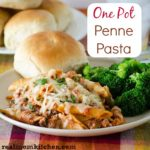 One Pot Penne Pasta | realmomkitchen.com