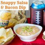 Snappy Salsa and Bacon Dip | realmomkitchen.com
