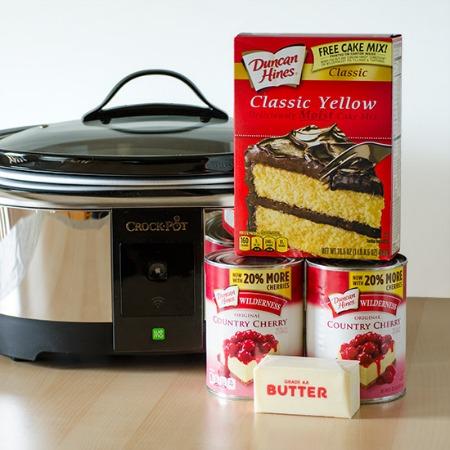 WEMO Crock Pot and Ingredients