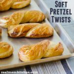 Homemade Soft Pretzel Twists | realmomkitchen.com
