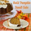 Moist Pumpkin Bundt Cake | realmomkitchen.com