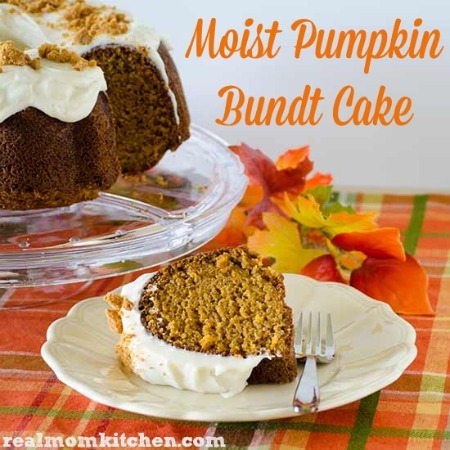 Moist Pumpkin Bundt Cake   realmomkitchen.com