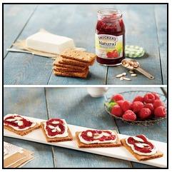 Smucker's instant raspberry cheesecake bites #spreadalittlesunshine