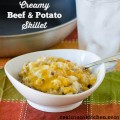 Creamy Beef and Potato Skillet | realmomkitchen.com