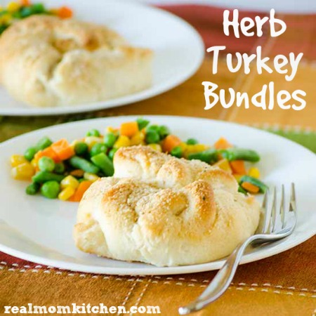 Herb Turkey Bundles   realmomkitchen.com