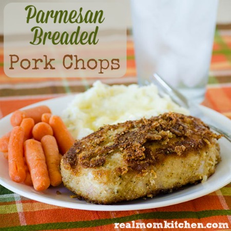 how to make pork chops with bread crumbs