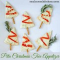 Pita Christmas Tree Appetizer | realmomkitchen.com