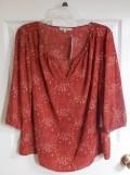 stitch fix 16 blouse | realmomkitchen.com