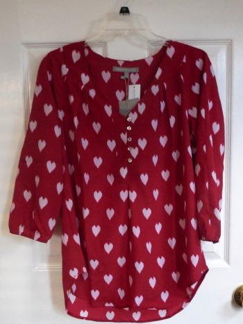 stitch fix 17 blouse | realmomkitchen.com