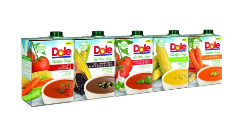 DOLE Garden Soup Full Line #DoleGardenSoup