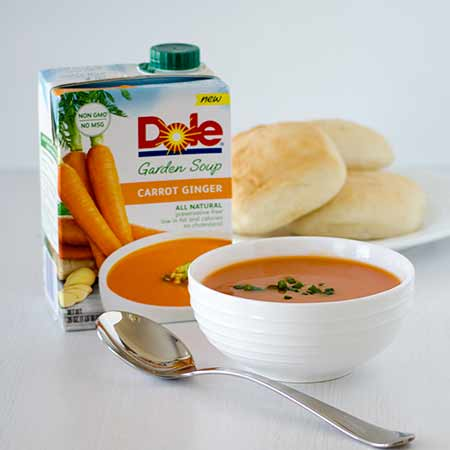 Dole Carrot and Ginger Soup