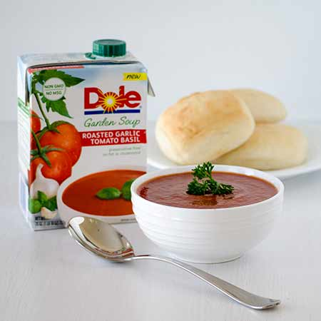 Dole Roasted Garlic Tomato Basil
