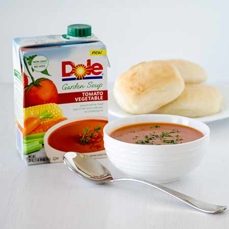 Dole Tomato and Vegetable Soup