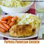 Paprika Parmesan Chicken   realmomkitchen.com