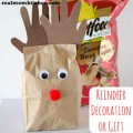 Reindeer decoration or gift | realmomkitchen.com #SmartfoodDIY